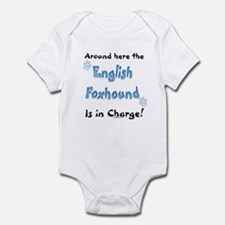 English Foxhound Charge Infant Bodysuit