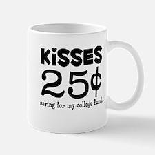 25 Cents Kisses Mug