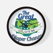 Great Diaper Change Final Logo_SM_no b. Wall Clock