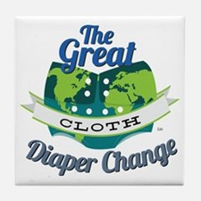 Great Diaper Change Final Logo_SM_no  Tile Coaster