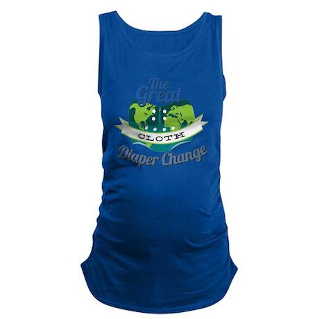 Great Diaper Change Final Logo_ Maternity Tank Top