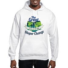 Great Diaper Change Final Logo_S Hoodie