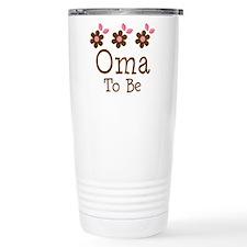 Oma To Be daisy Travel Mug