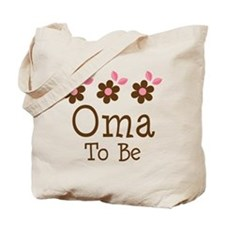 Oma To Be daisy Tote Bag