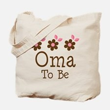 Oma To Be daisy Tote Bag