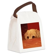 Sneaky Dog Canvas Lunch Bag