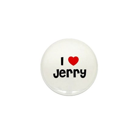 I * Jerry Mini Button