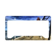 grand haven 2010 hdr 3 ghosts License Plate Holder