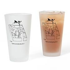 4664_lab_cartoon Drinking Glass