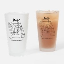 4664_lab_cartoon Drinking Glass