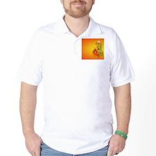 CoinPurse  Flaming Dragon T-Shirt