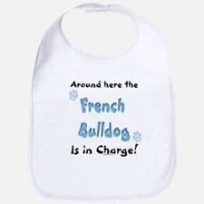 Frenchie Charge Bib