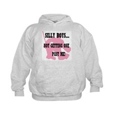 Silly Boys.... Hoodie