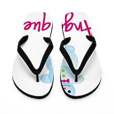 Angelique-the-snow-woman Flip Flops
