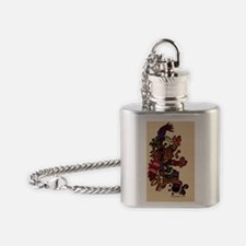 Tepeyyollotli 23 x 35 Flask Necklace