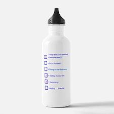 todo list Water Bottle