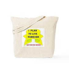 LIVE FOREVER Tote Bag