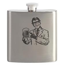 alcoholisasolutionDARK Flask