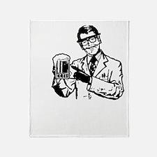 alcoholisasolutionDARK Throw Blanket