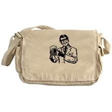 alcoholisasolutionDARK Messenger Bag