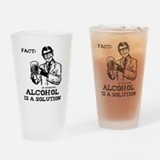 alcoholisasolution Drinking Glass