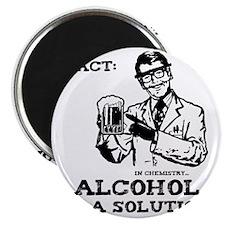 alcoholisasolutionEXTRAS Magnet