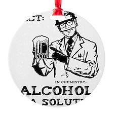 alcoholisasolutionEXTRAS Ornament