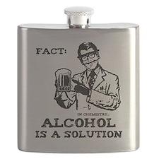 alcoholisasolutionEXTRAS Flask