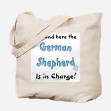 German Shepherd Charge Tote Bag