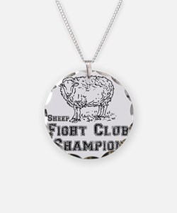 sheep fight club Necklace