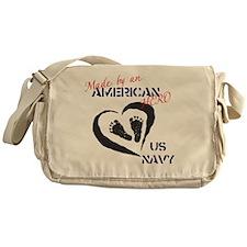 Baby of A Navy Hero Messenger Bag