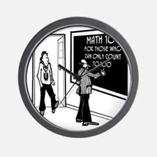 3204_math_cartoon_JAC Wall Clock