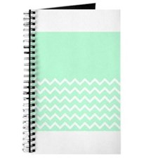 Mint Green and Zigzags. Journal