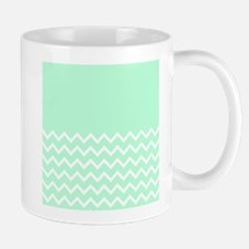 Mint Green and Zigzags. Mugs