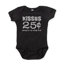 25 Cents Kisses Baby Bodysuit