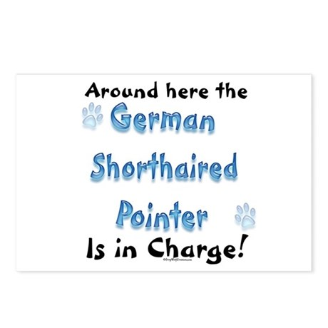 Shorthaired Charge Postcards (Package of 8)
