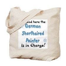 Shorthaired Charge Tote Bag
