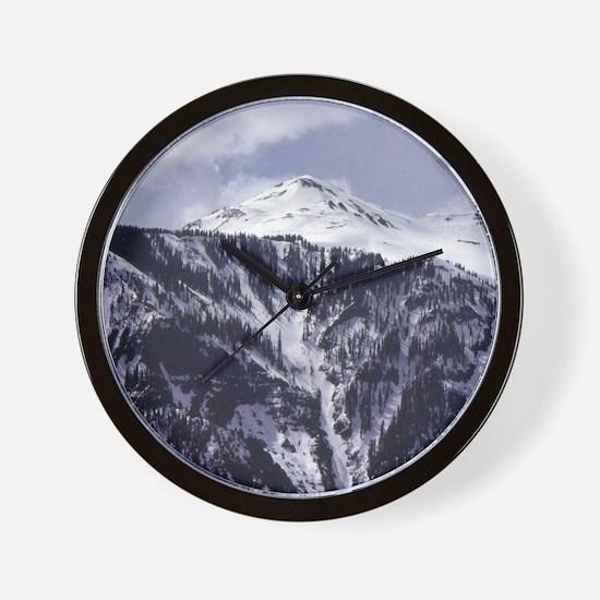 Colorado Rocky Mountains 3-ALT Wall Clock