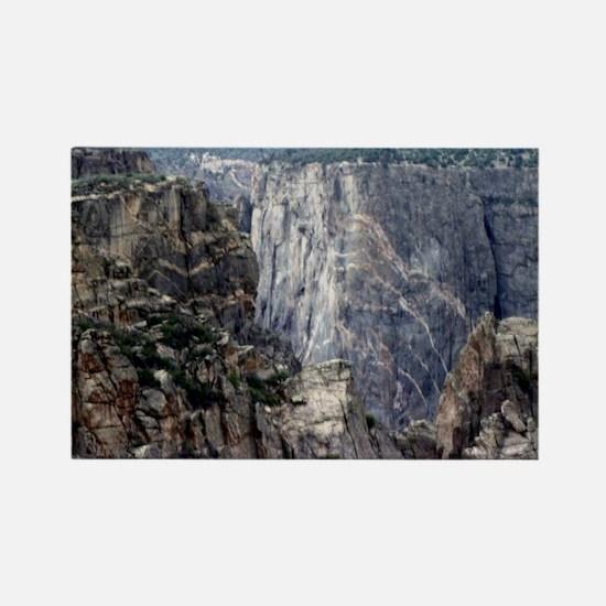 Colorado Black Canyon 2 Rectangle Magnet