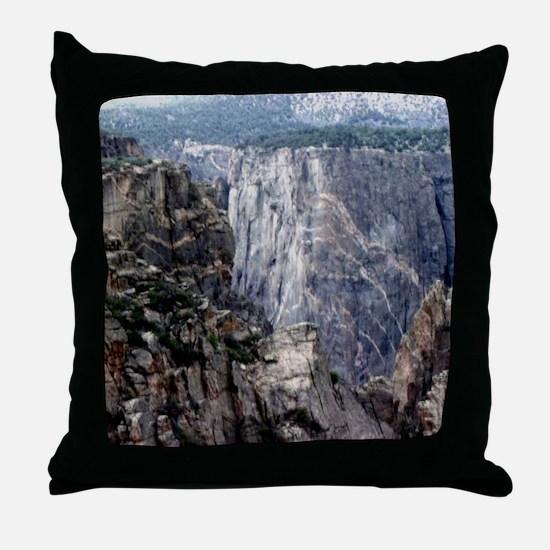 Colorado Black Canyon 2 Throw Pillow