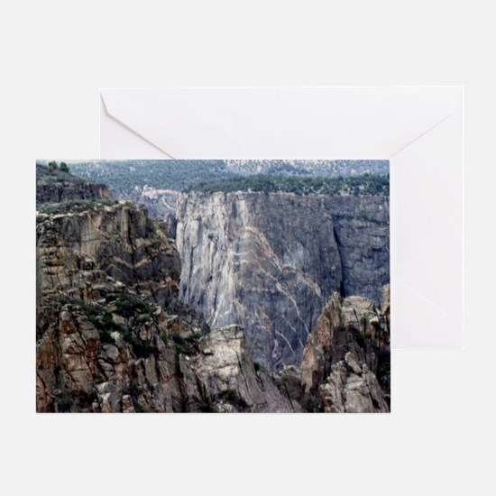 Colorado Black Canyon 2 Greeting Card