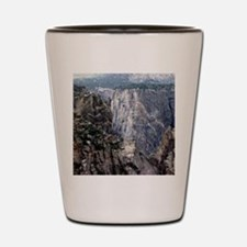 Colorado Black Canyon 2 Shot Glass