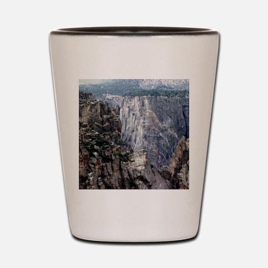 Colorado Black Canyon 2 Shot Glass
