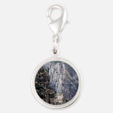 Colorado Black Canyon 2 Silver Round Charm