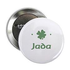 """""""Shamrock - Jada"""" Button"""