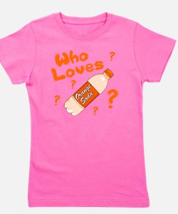 Who-Loves-Orange-Soda Girl's Tee