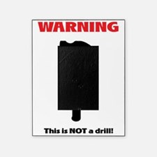not a drill - white background Picture Frame