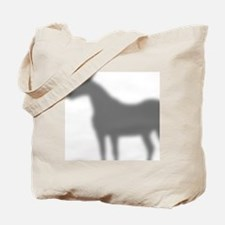 horse-shadow_shower Tote Bag