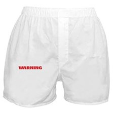 not a drill - black background Boxer Shorts
