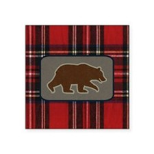 """grizzlywallet Square Sticker 3"""" x 3"""""""